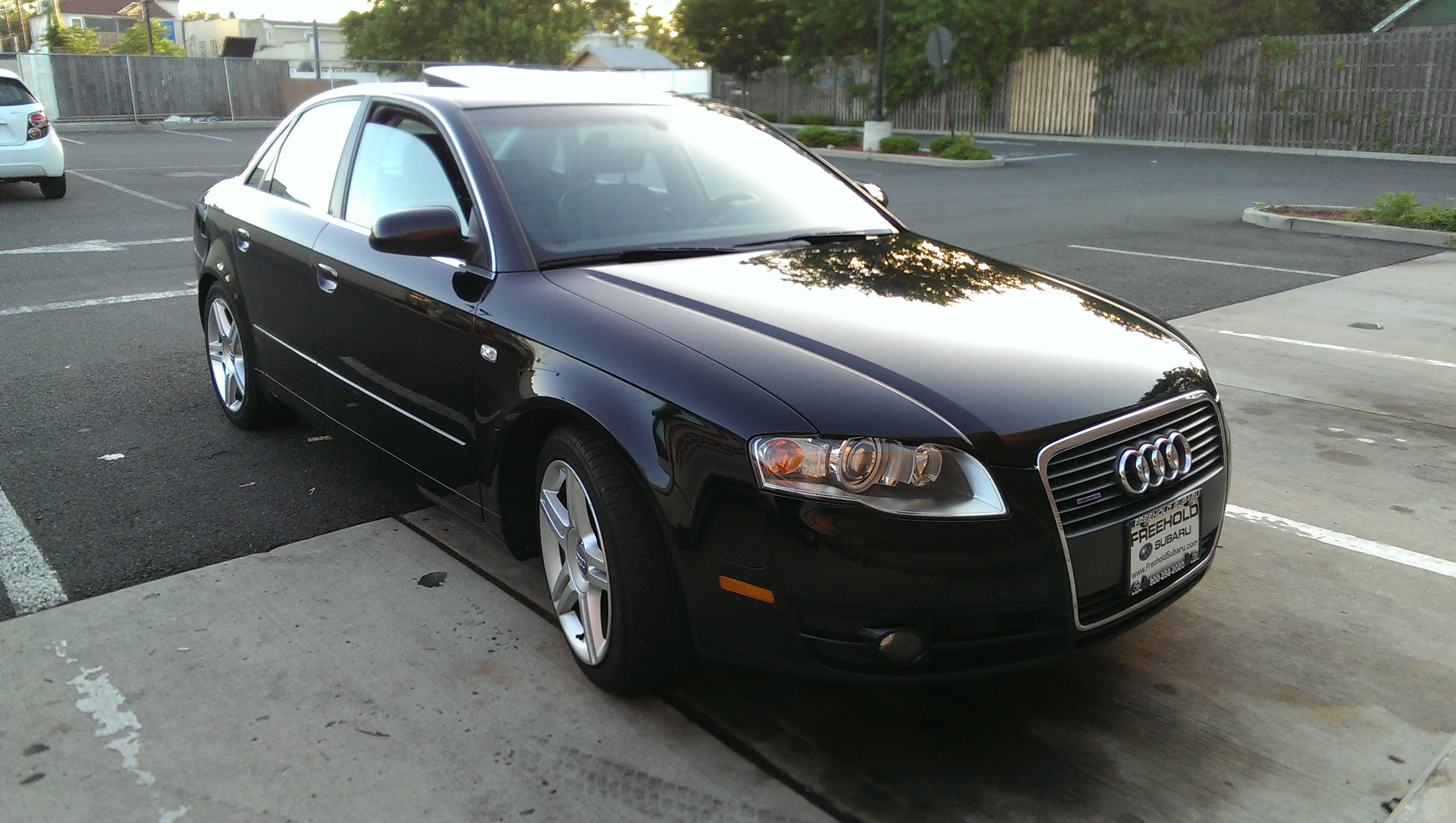 rickysmx5 2007 audi a42 0t quattro sedan 4d specs photos modification info at cardomain. Black Bedroom Furniture Sets. Home Design Ideas