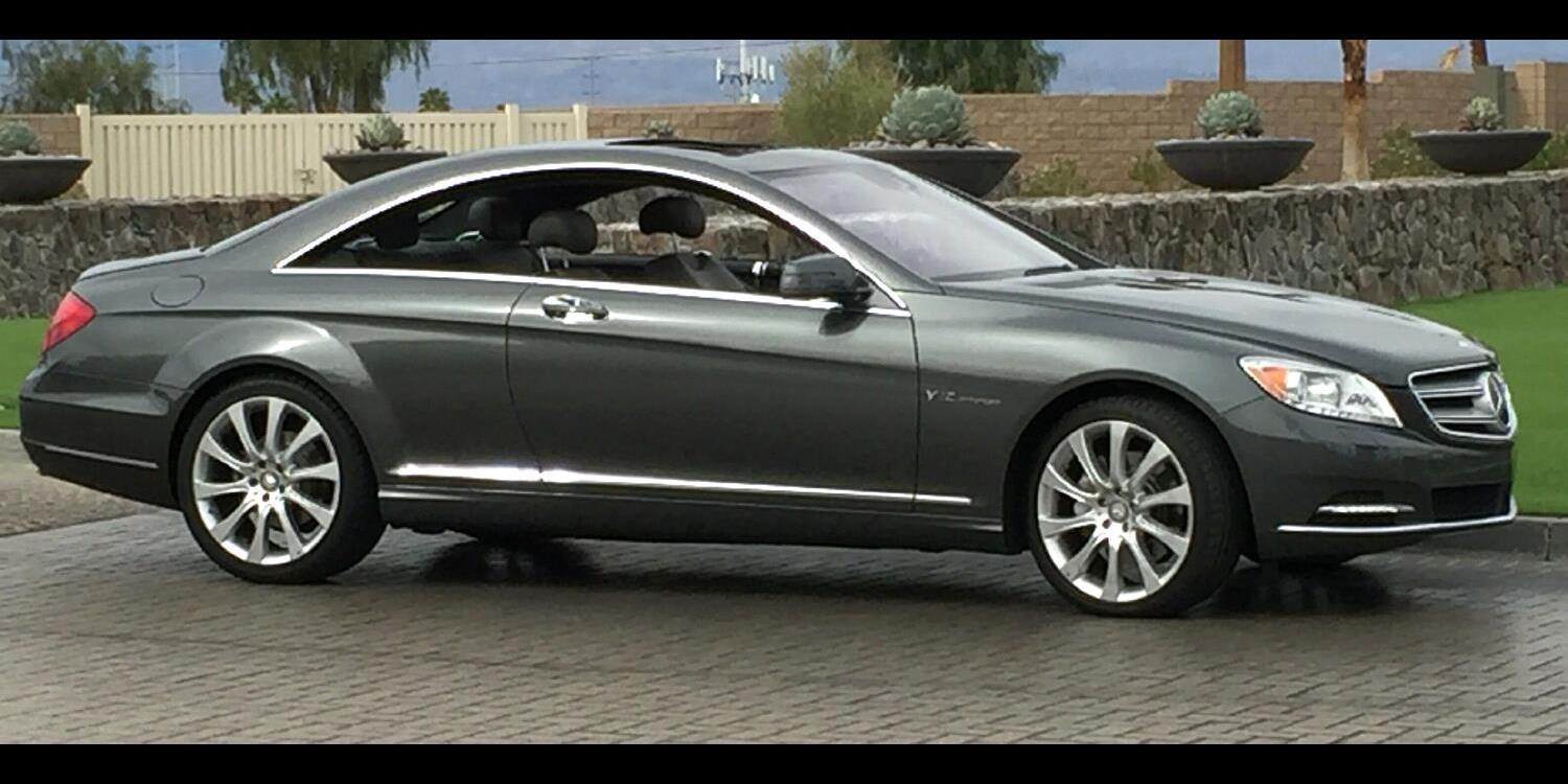 LincolnCollector 2014 Mercedes-Benz CL-Class