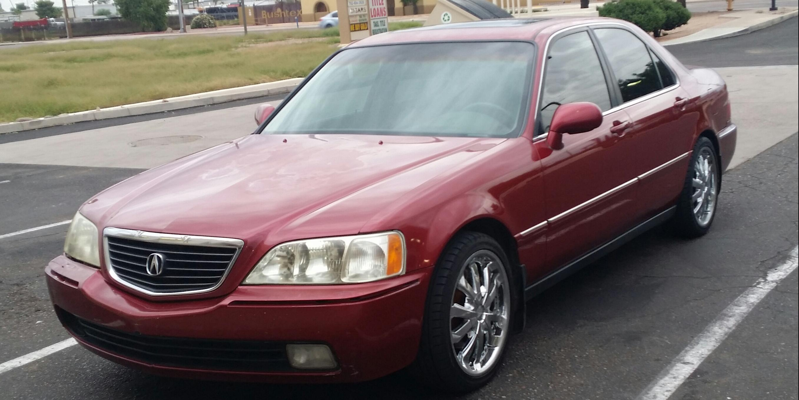 NomadicxLife 2000 Acura RL3.5-Sedan-4D Specs, Photos, Modification