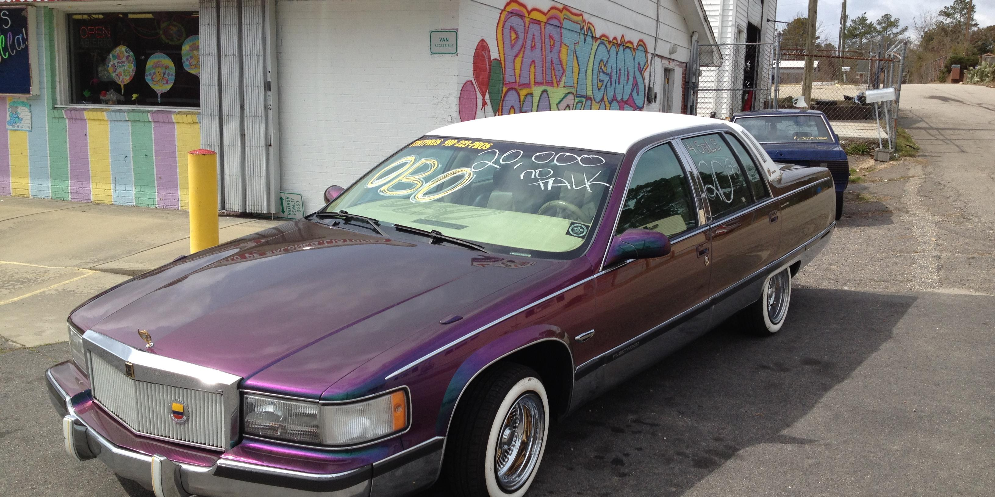 James Kilo Bofill 1995 Cadillac Fleetwood