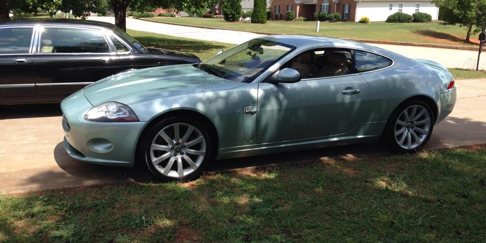 coachdrew21 2007 Jaguar XK-Series