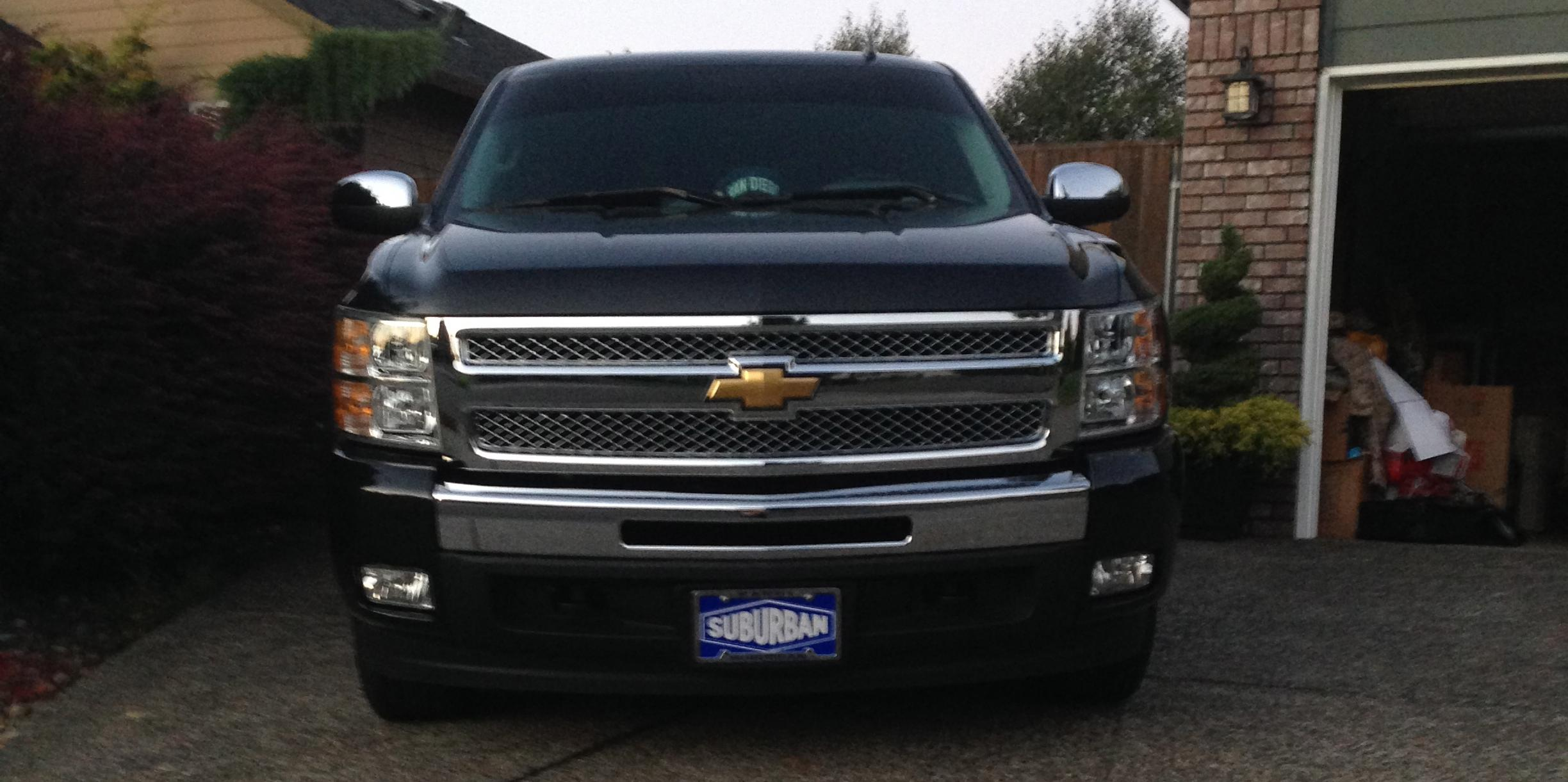 2012 Chevrolet 1500-Regular-Cab