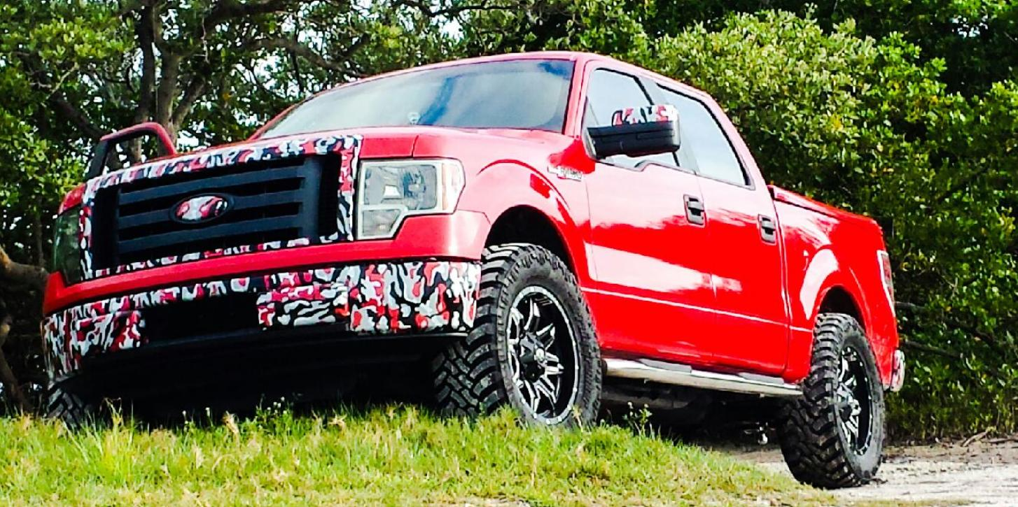 UCwraps 2010 Ford F150-SuperCrew-Cab