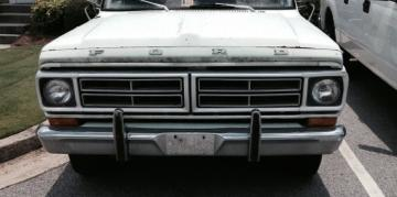 ABrown Whips 1972 Ford F250-Regular-Cab