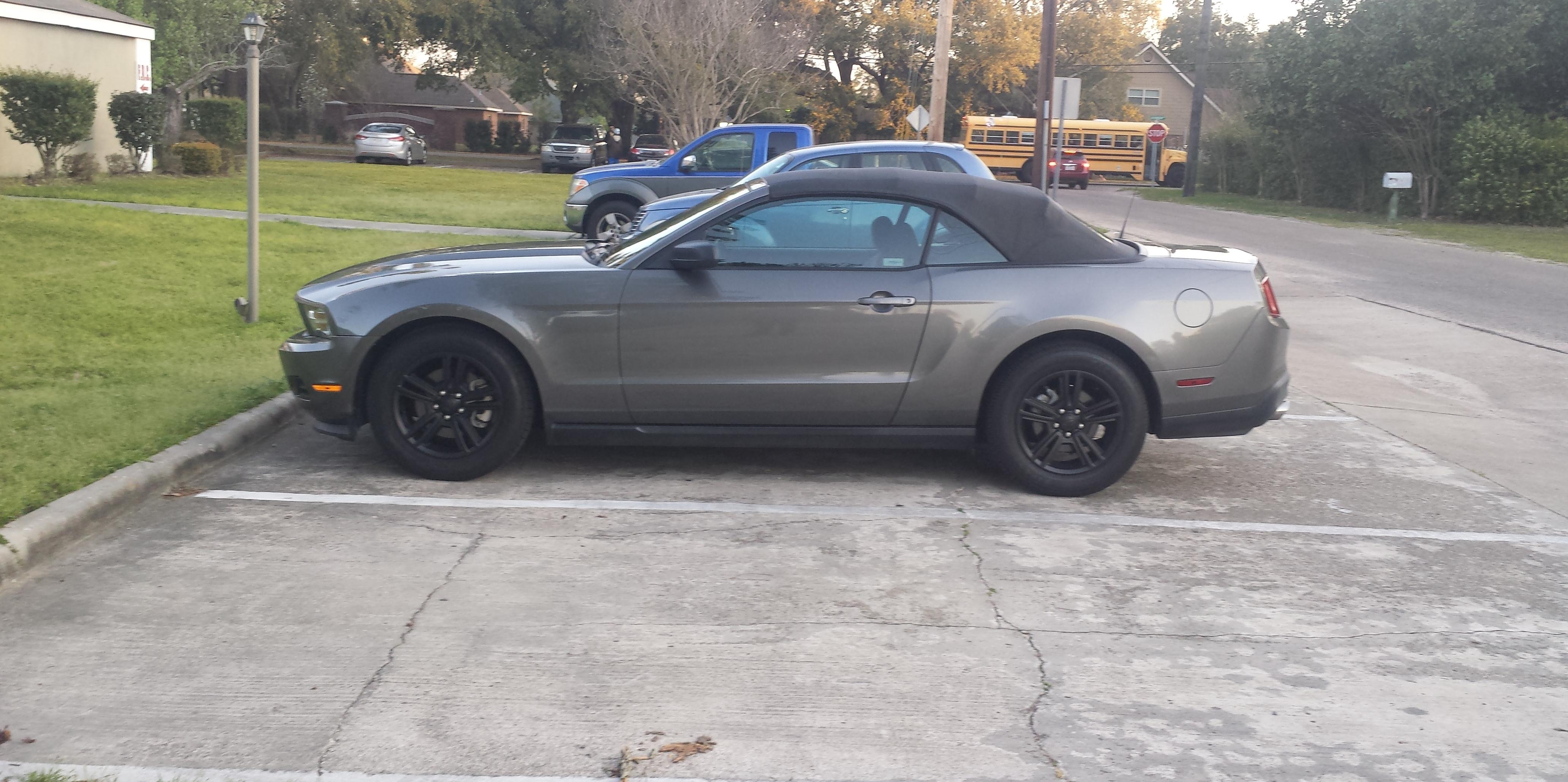 Jared Thomas 2011 Ford Mustang