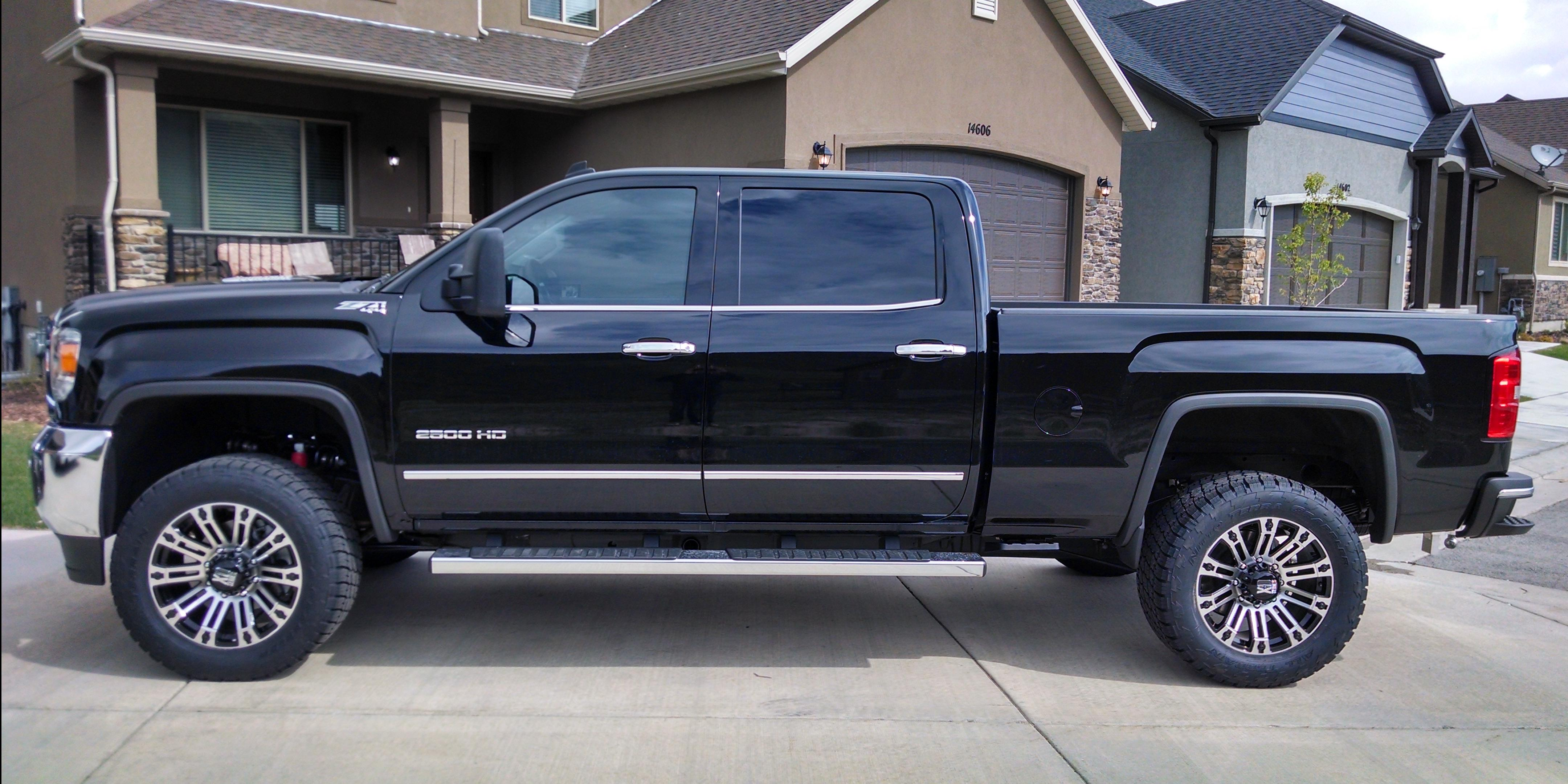sendtobrit 2015 gmc 2500 crew cabshort bed specs photos modification info at cardomain. Black Bedroom Furniture Sets. Home Design Ideas
