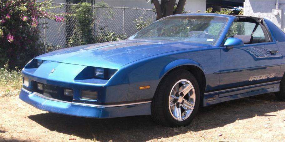 King Los 1989 Chevrolet Camaro