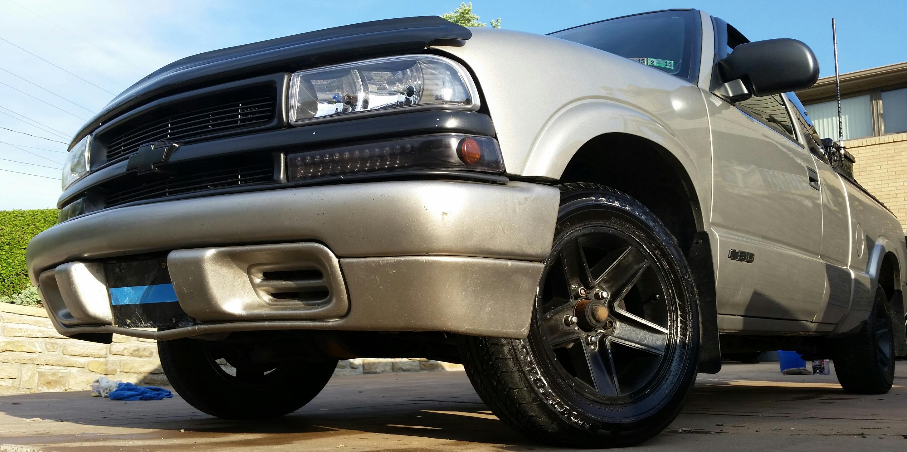 2001 Chevrolet S10-Extended-Cab