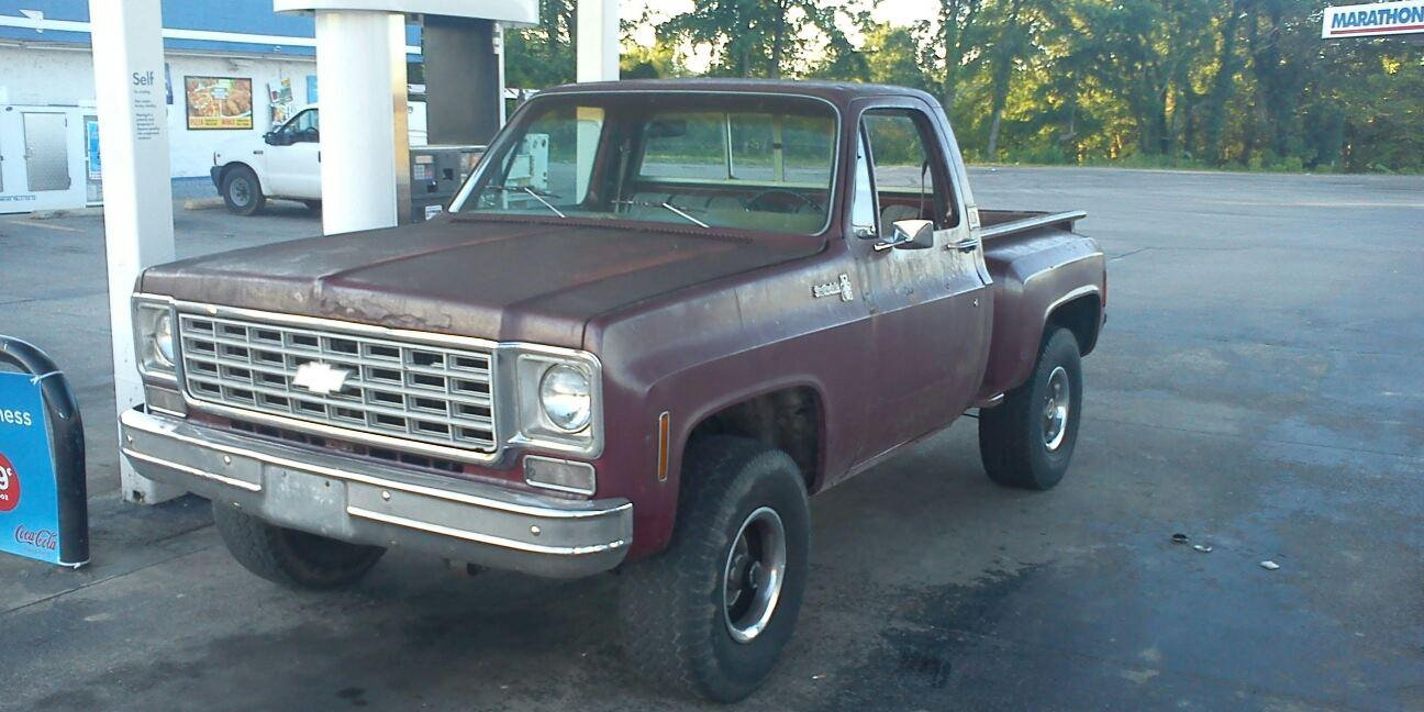 John McLearran 1976 Chevrolet C/K-Pick-Up