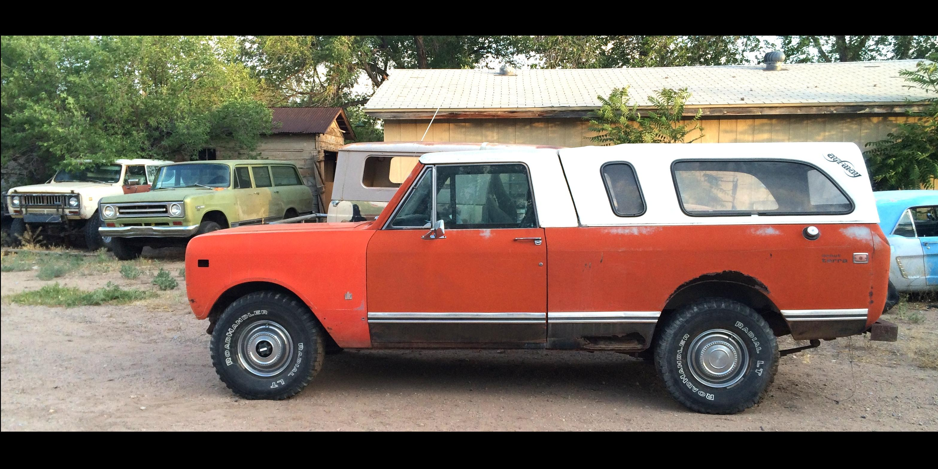 Terrible Terra 1976 International Scout-II