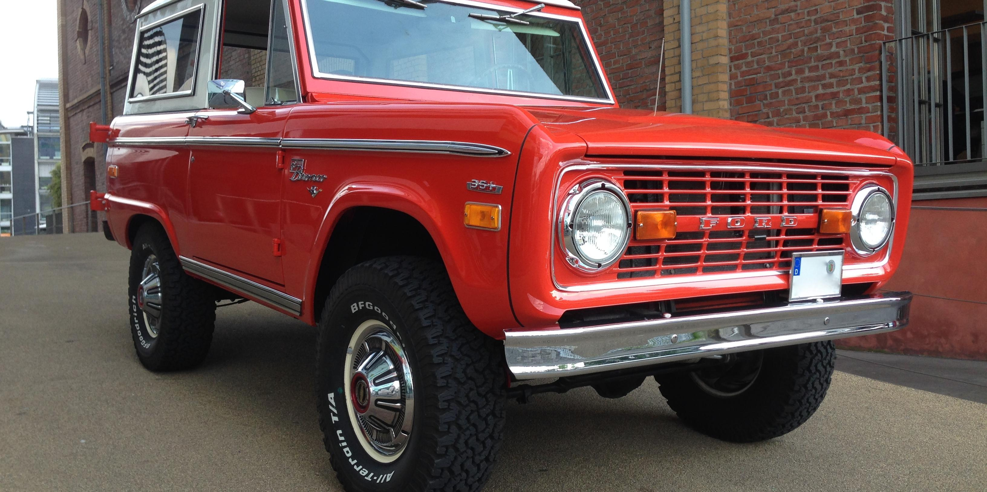 captain-gaskrank 1971 Ford Bronco