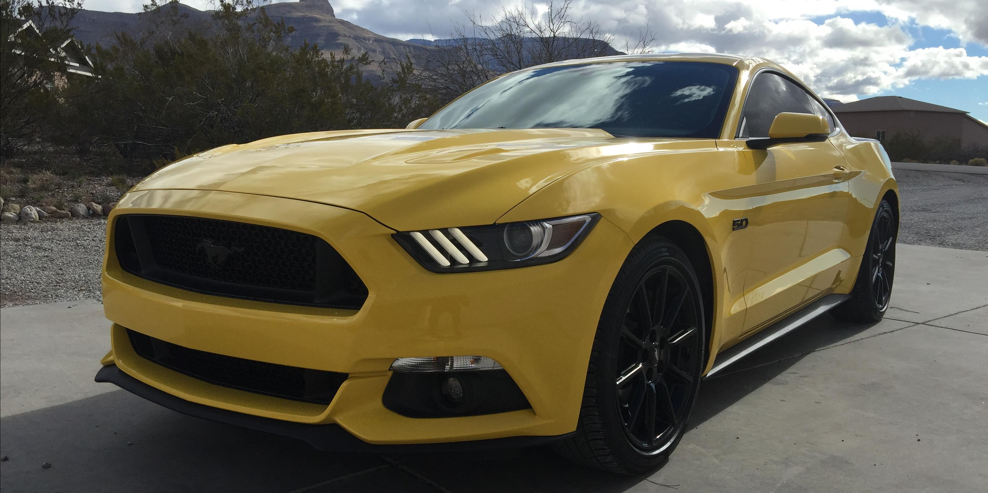 Ludablack 2016 ford mustang