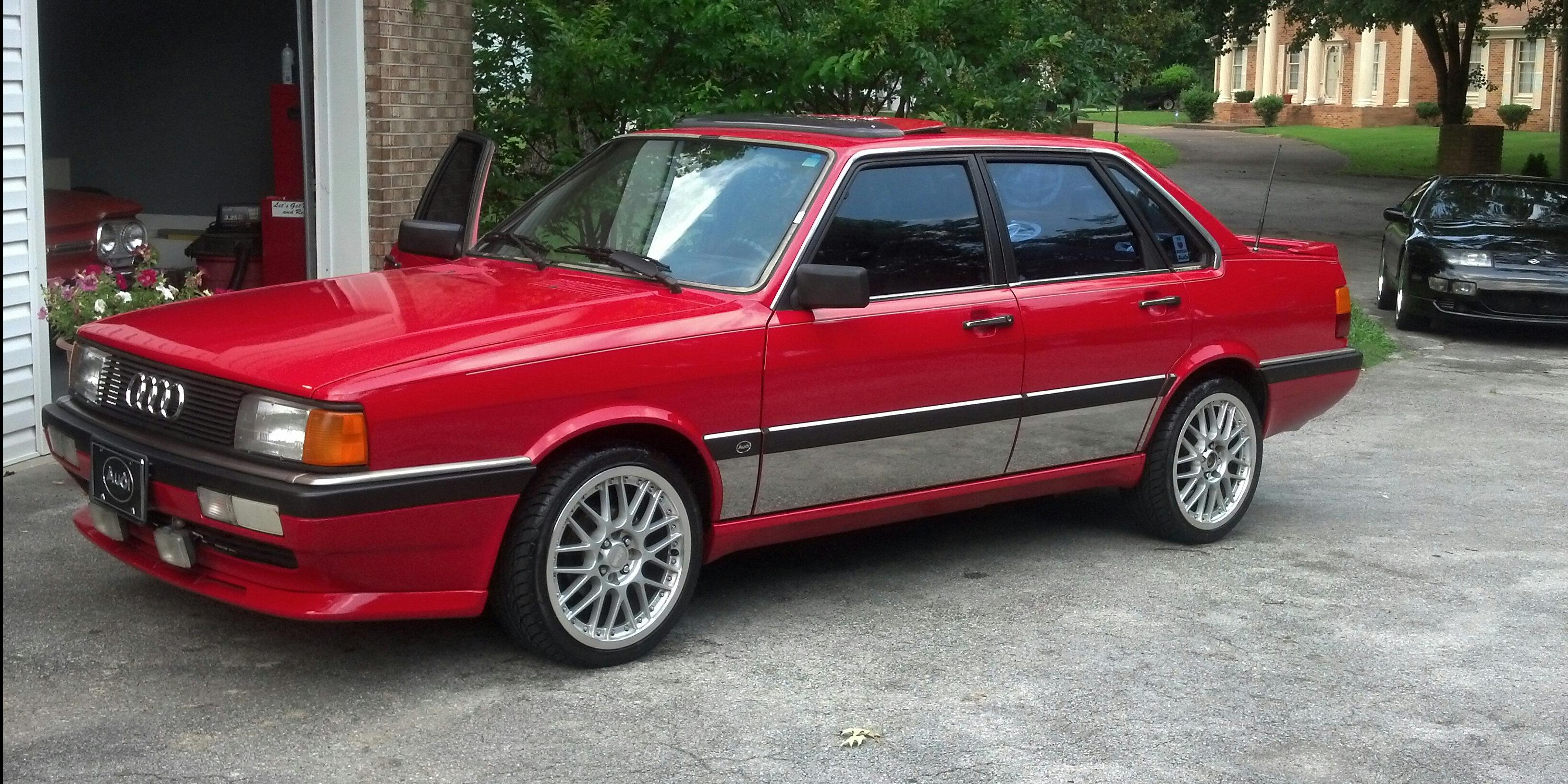 yotajtrd 1987 Audi 4000 Specs, Photos, Modification Info ...