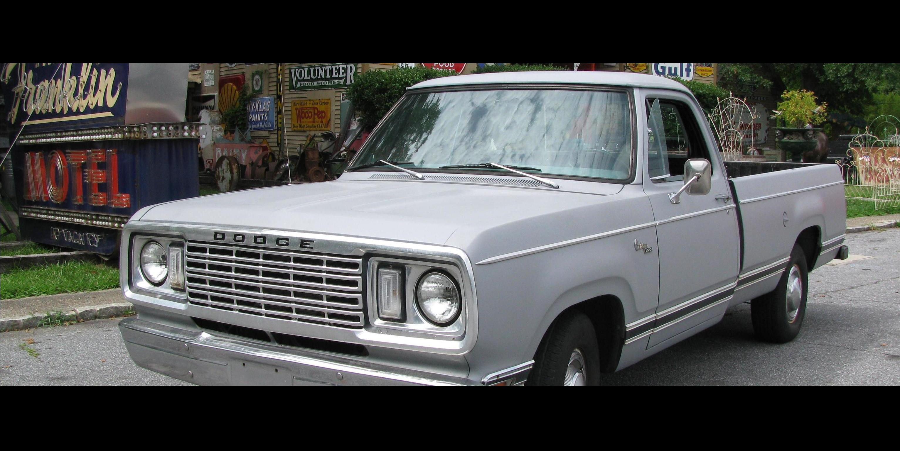 glenirah 1977 Dodge D150-Regular-Cab