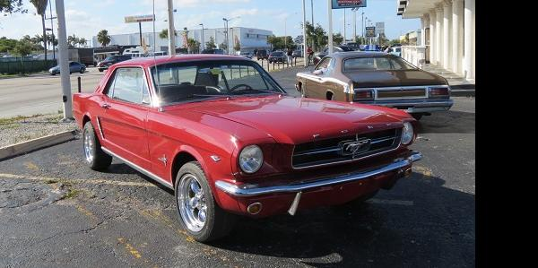 tedvernon471 1965 Ford Mustang