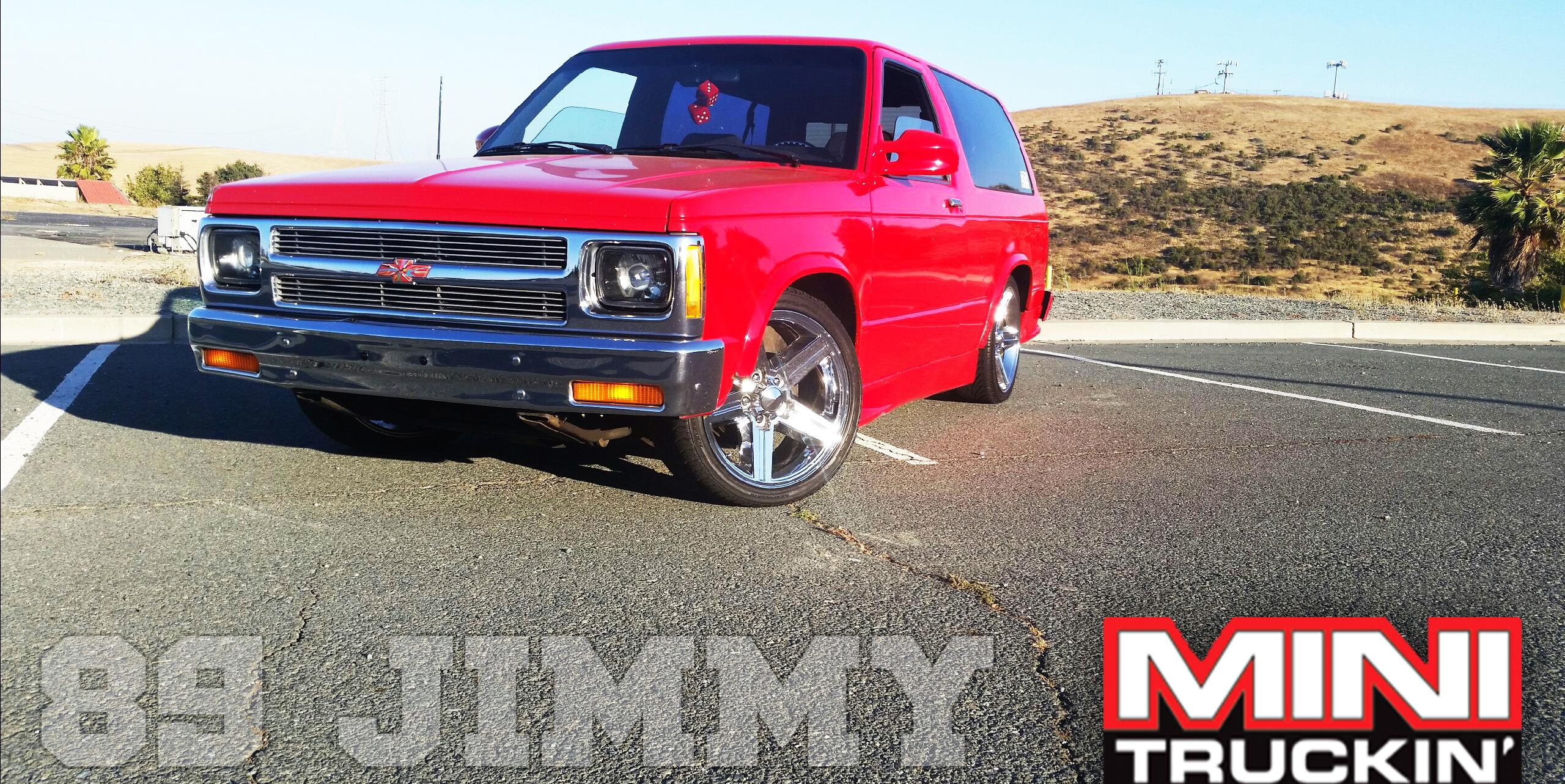 1989 GMC S15-Jimmy