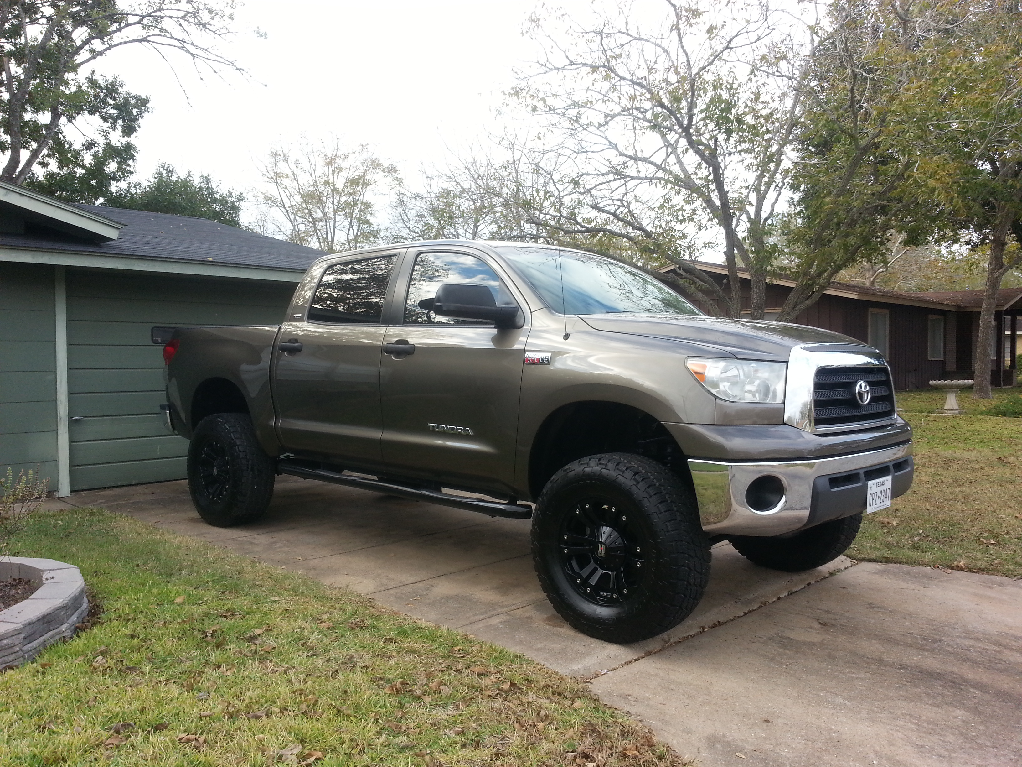 High Quality DWW1Shiner 2007 Toyota Tundra CrewMax