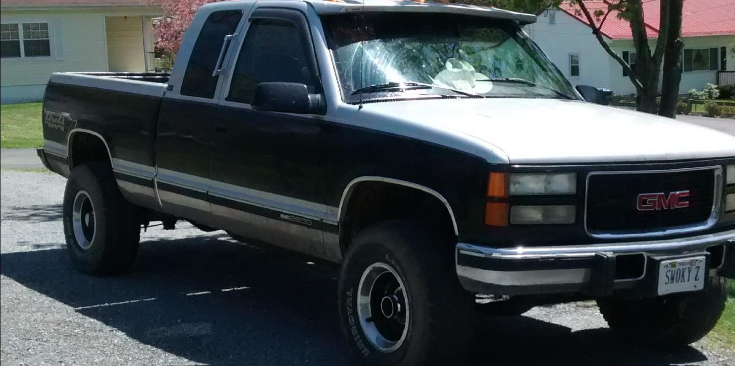 1995 gmc 2500 curb weight