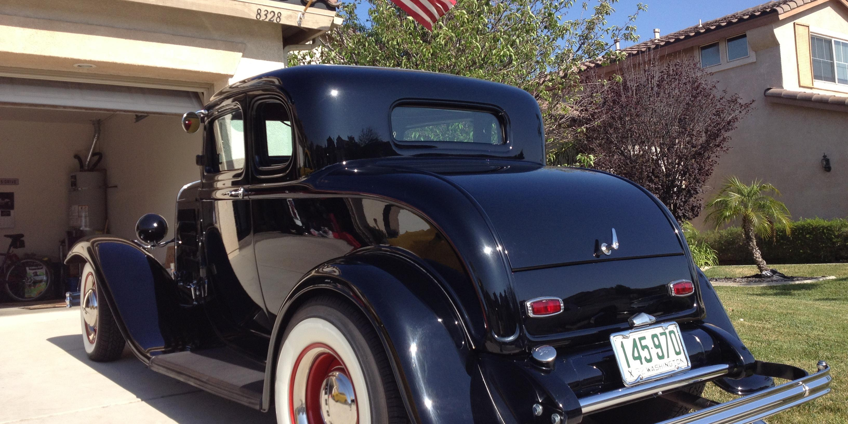Harley1932 1932 Ford Coupe