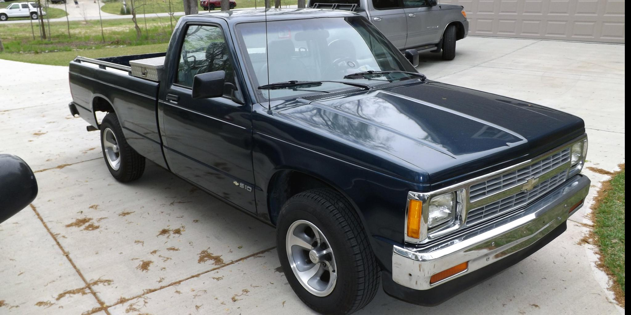 1991 Chevrolet S10-Regular-Cab