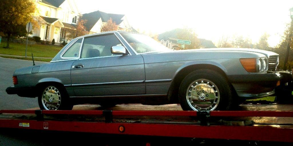 izzodesh 1989 Mercedes-Benz 560SL