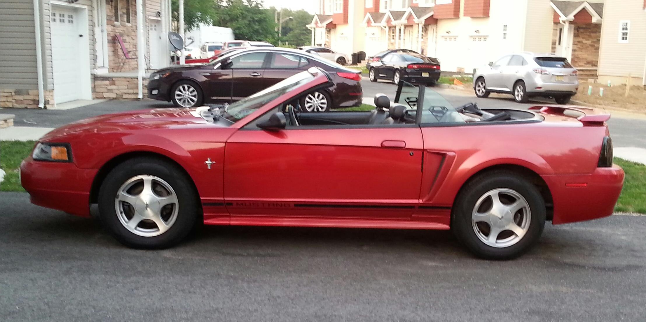 4085822 2001 Ford Mustang