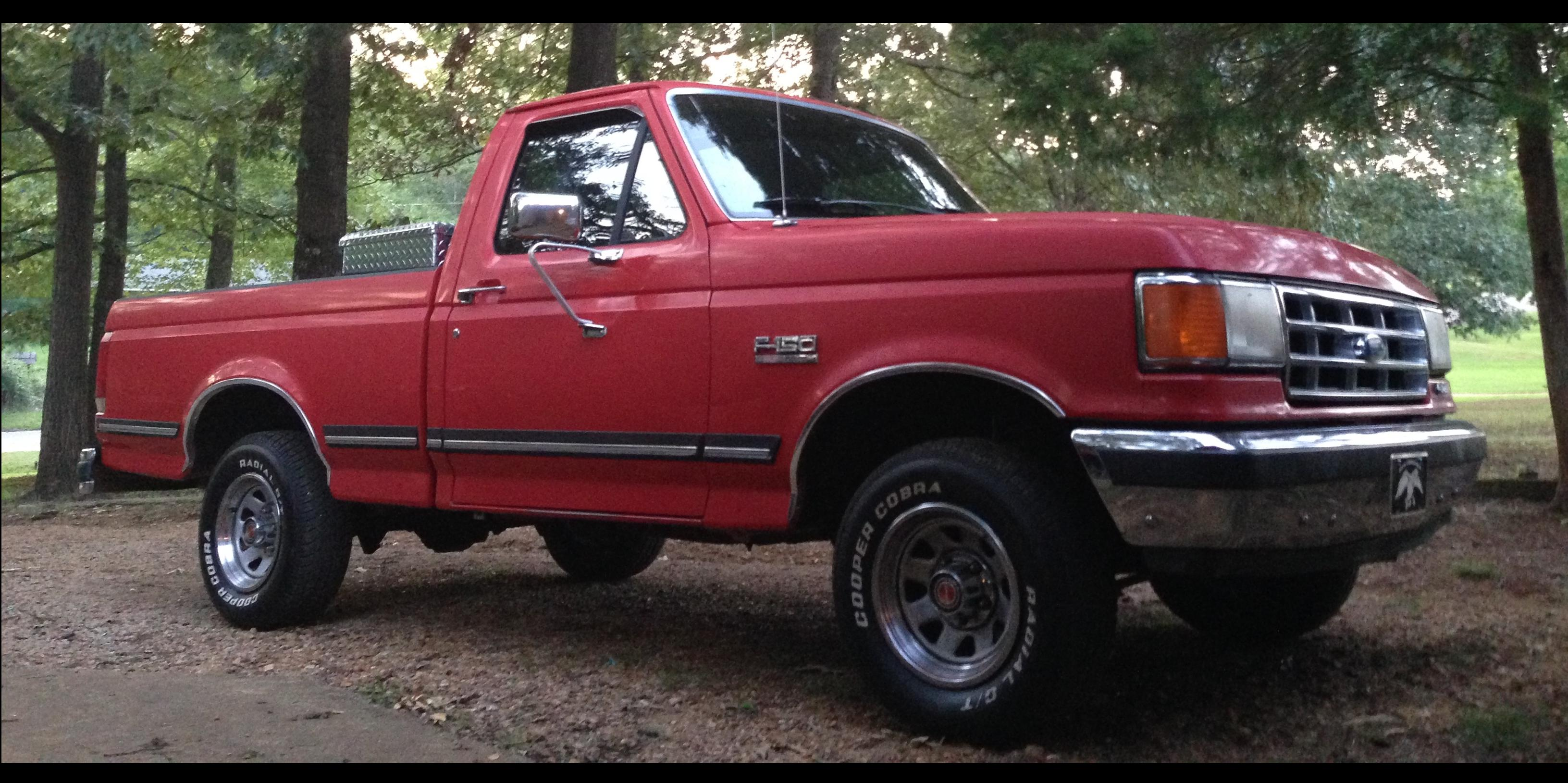 1987 Ford F150-Regular-Cab