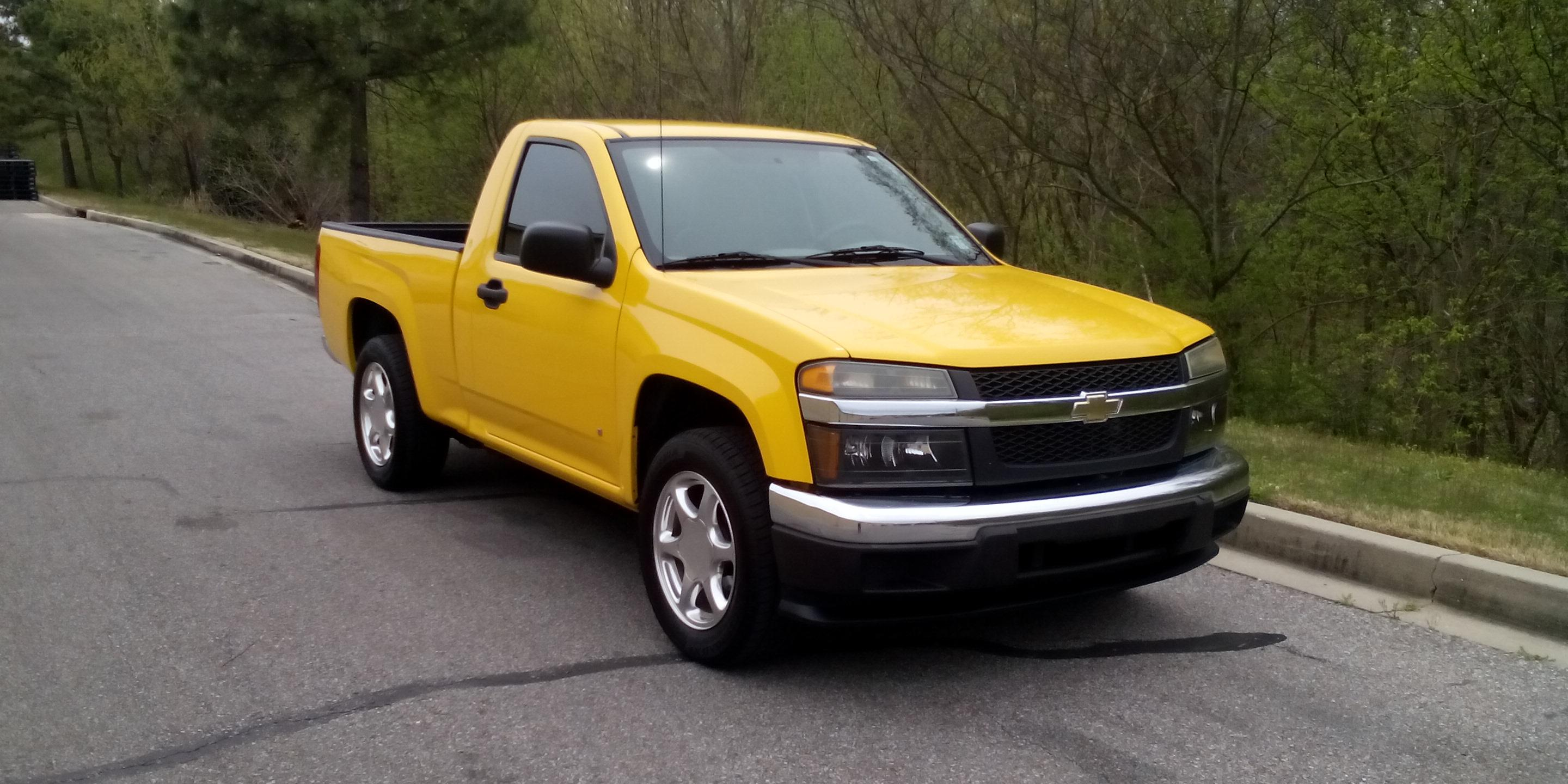 2007 Chevrolet Colorado-Regular-Cab