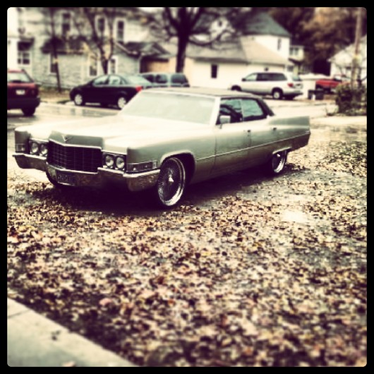 Cblifted 1969 Cadillac DeVille