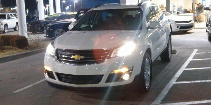 50implant 2014 Chevrolet Traverse