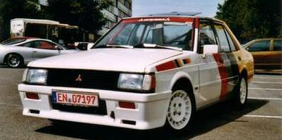 V12Power's 1987 Mitsubishi Lancer