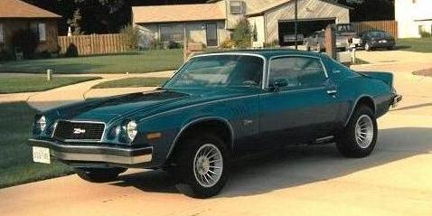 last Indian 1974 Chevrolet Camaro
