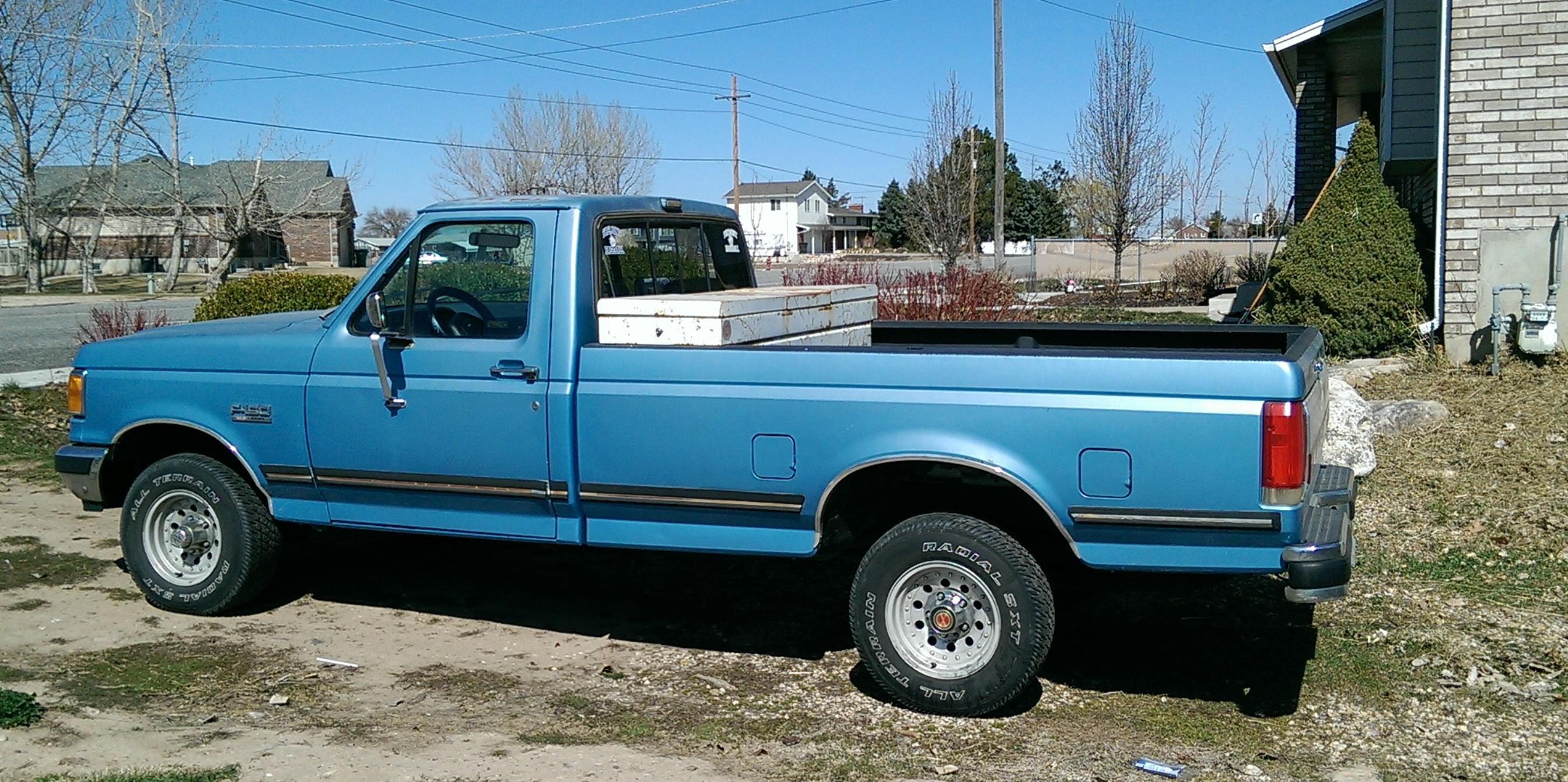 1991 Ford F150-Regular-Cab