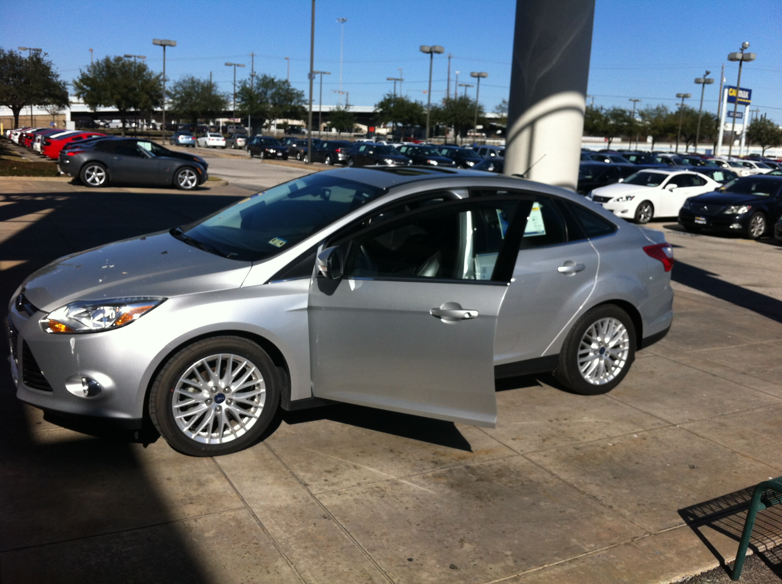Luis Ricardo Rivera 2012 Ford Focus