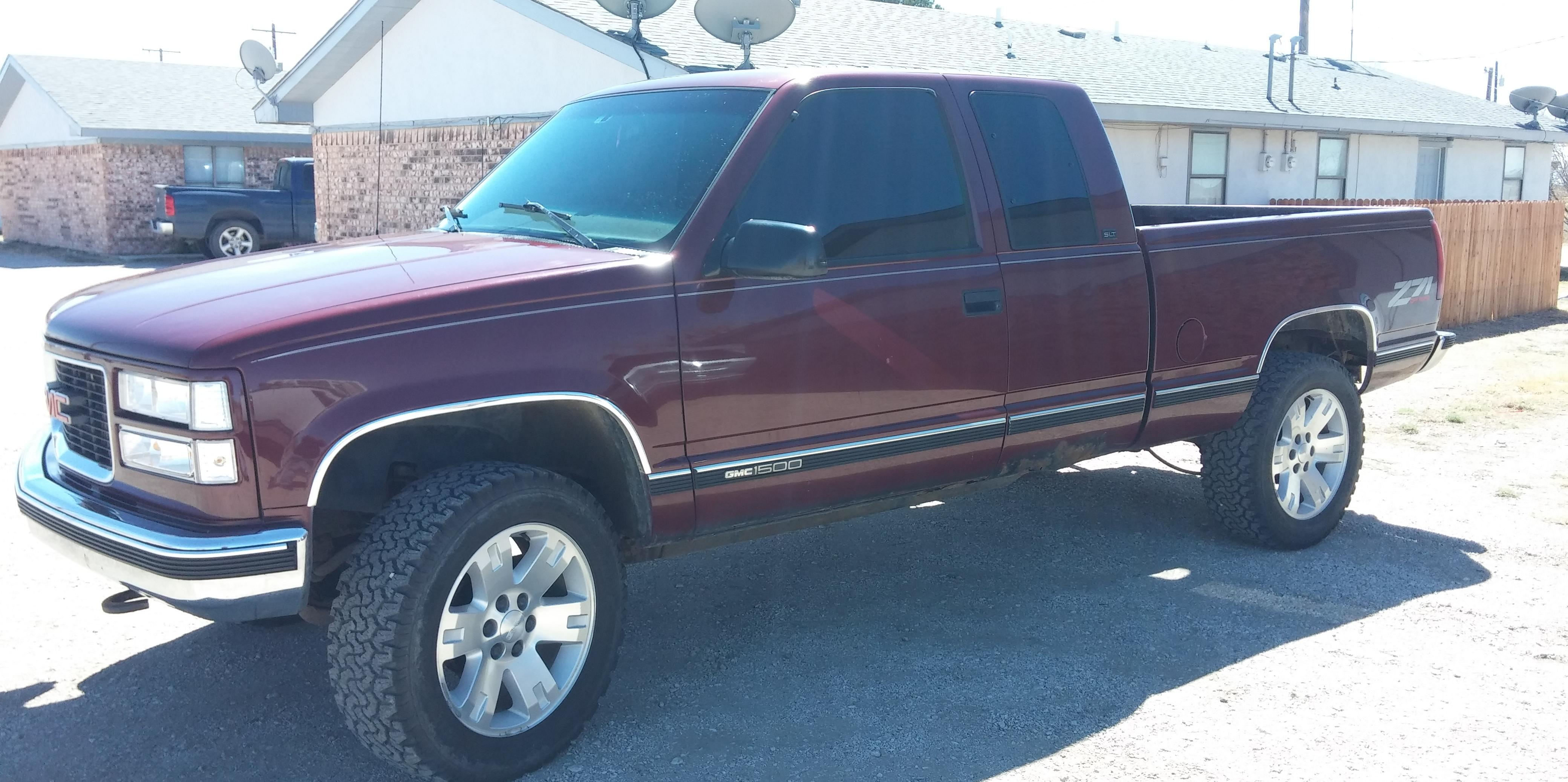 1997 gmc sierra 1500 extended cab