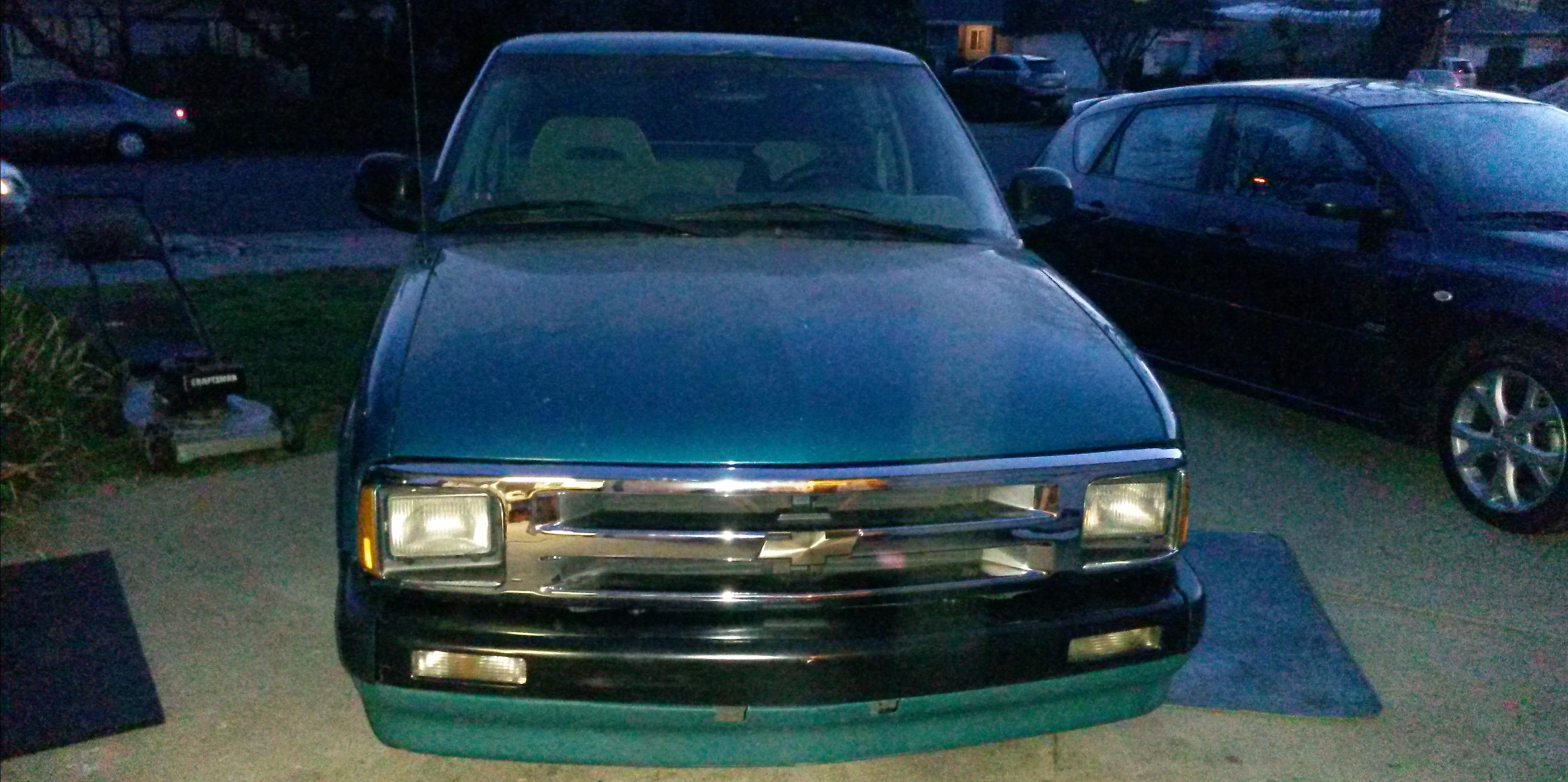 1996 Chevrolet S10-Extended-Cab