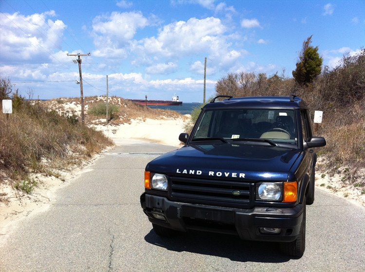 exhilir 2000 Land Rover Discovery Series II