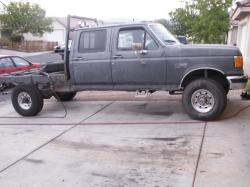 nlo9rs 1990 Ford F350 Super Duty Crew Cab & Chassis