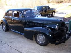 HenryUpholstery 1940 Cadillac Sixty Special