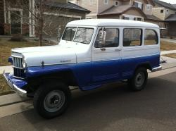 1959 Jeep Willy Wagon 4X4