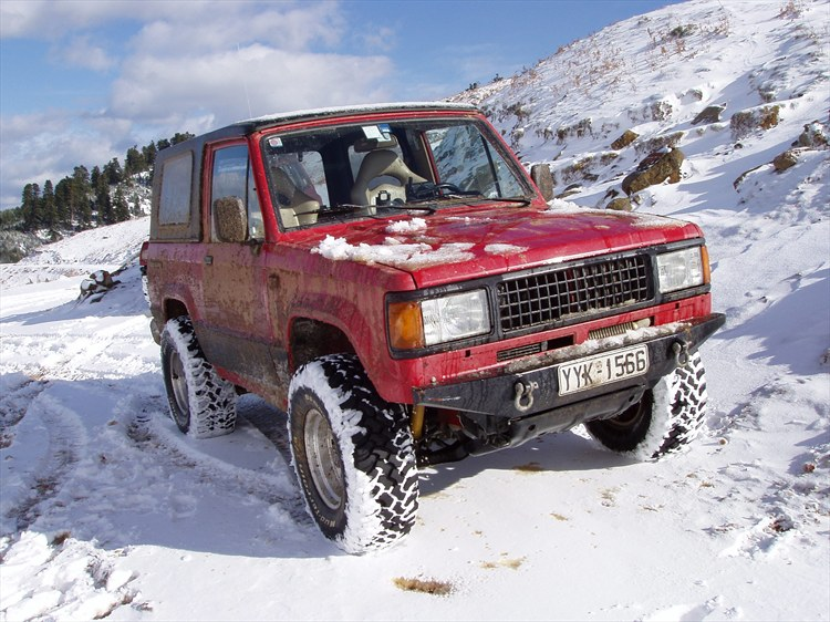 mastoras 1990 Isuzu Trooper