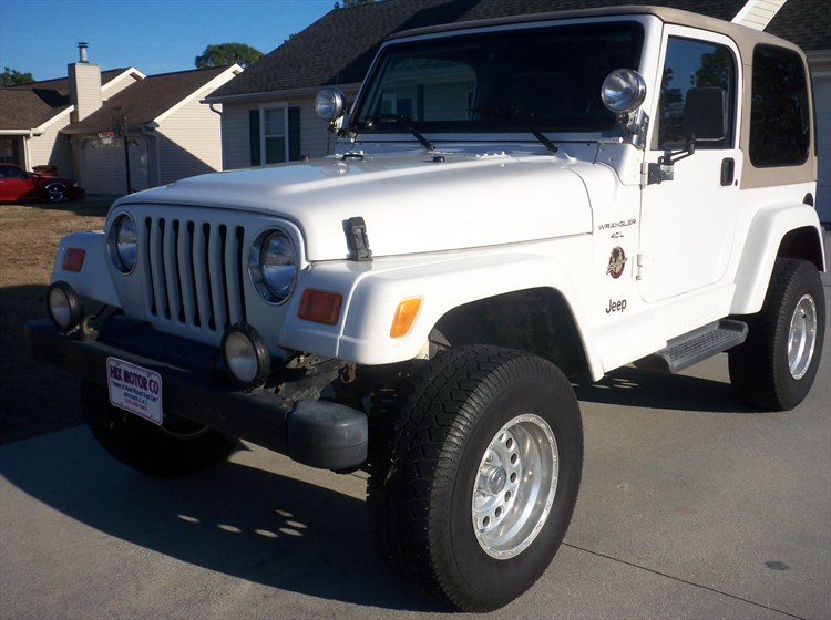 wildeagle 2001 jeep wranglersahara sport utility 2d specs photos modification info at cardomain. Black Bedroom Furniture Sets. Home Design Ideas