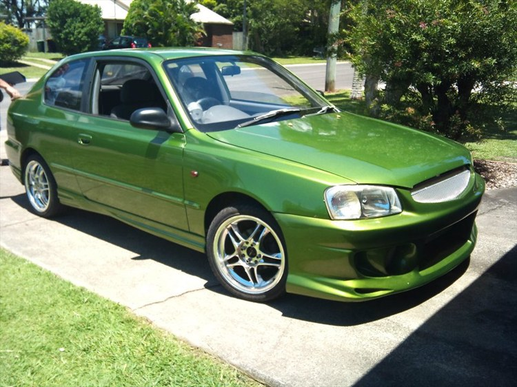 Hournydevil 2000 Hyundai Accent Specs  Photos