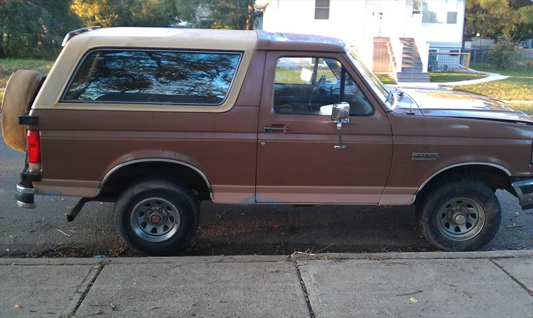 DuDlEe 1989 Ford Bronco