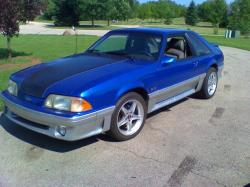 Larsonracing21 1987 Ford Mustang