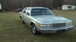 crownme205 1989 Mercury Grand Marquis