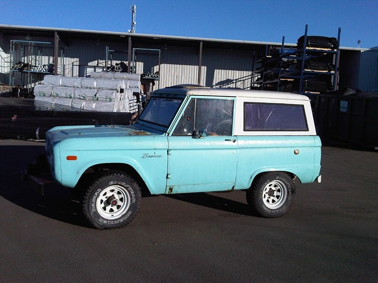 dominicthecat 1968 Ford Bronco