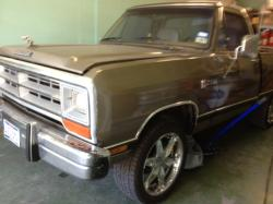 bigcahuna 1986 Dodge D150 Regular Cab