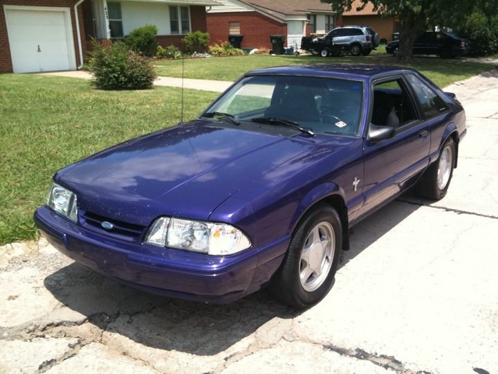 magentamonster 1988 Ford Mustang