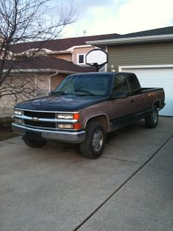 chevyman-502 1995 Chevrolet 1500 Extended Cab